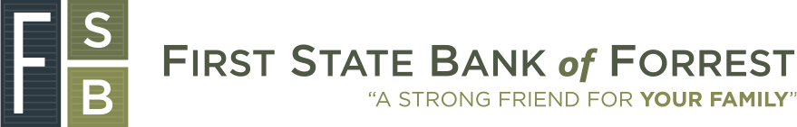 First State Bank of Forrest Homepage